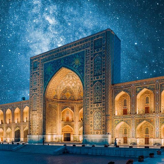 viajes a uzbequistán